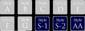 StyleS-1,S-2,AA